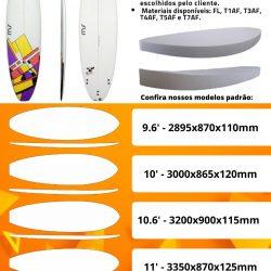 Bloco EPS para pranchas surf/ stand up