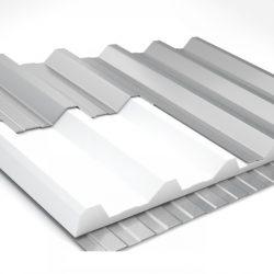 Telha térmica trap TP40 200x98x3cm bandeja