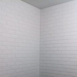 Tijolinho Isopor p/ Decoração parede