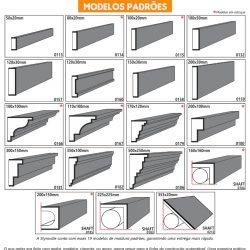 Moldura Cimentícia EPS para uso externo