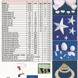 Moldados EPS para decoração